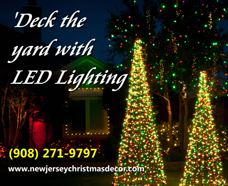 new jersey christmas decorating services